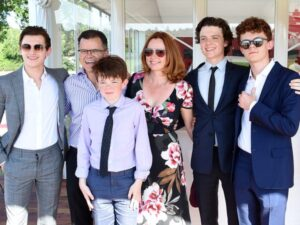 Thomas Stanley Holland's Family