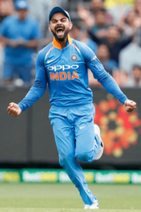 Virat Kohli's height