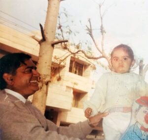 Virat Kohli's father