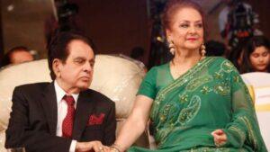 Dilip Kumar with wife