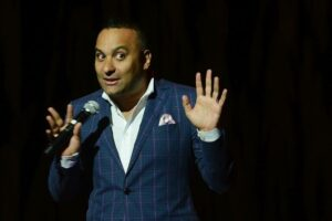 Russell Peters on stage