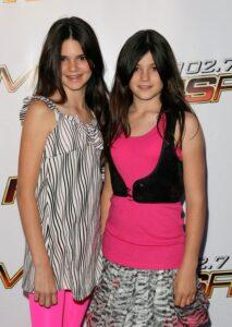 Kendall Jenner's childhood image